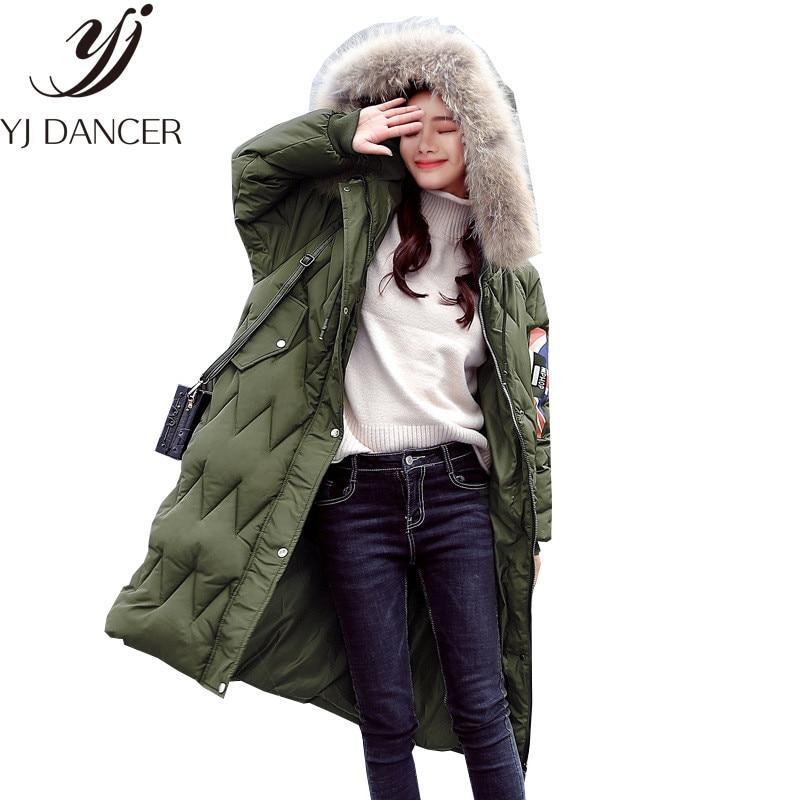 Зима 2018 облегающее женское теплое пальто с длинным рукавом новая свободная
