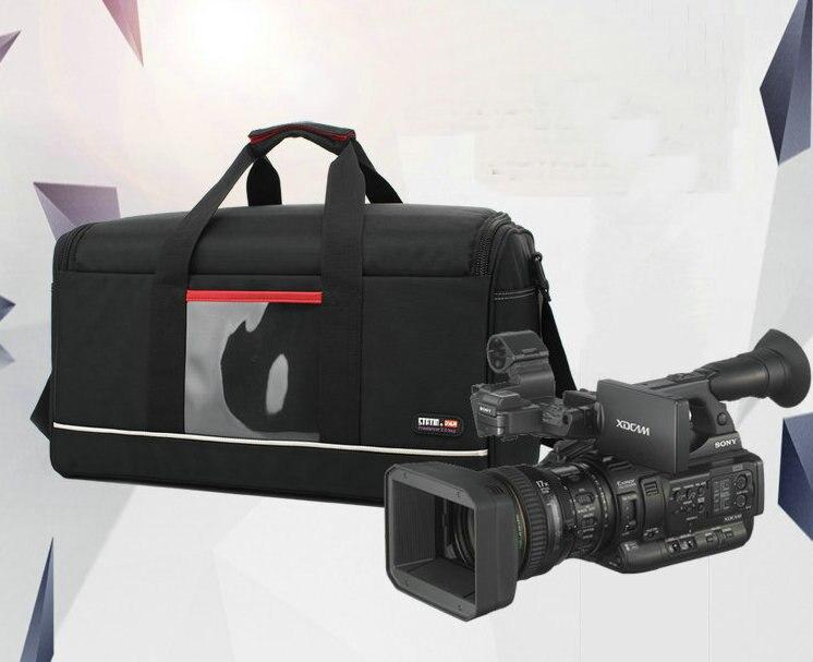 Bolsa de cámara de vídeo profesional, bolsa de portátil para cámara Panasonic, Canon, Sony, JVC, RED ARRI, etc. Bolsa de viaje