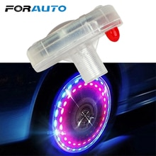 Auto Fahrräder Rad Licht Luft Kappen Solar Energie LED Licht Auto-styling Reifen Ventil Kappen 1 Stück Dekor Lampe ventile