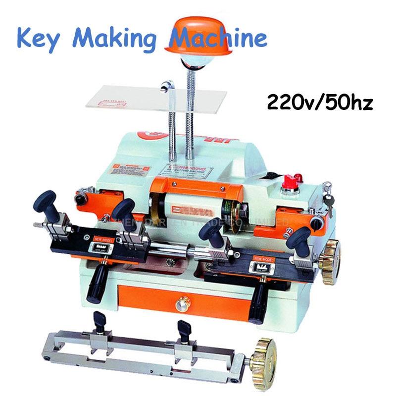 Key Cutting Machine Multi-Functional Key Duplicating Machine 220v/50hz Key Making Machine for Locksmith 100E1 rumi seven r socks machine use rumidraw graphical program hardlock key