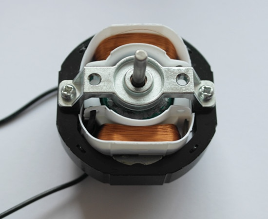 YJ58-12 CW Clockwise 2 Poles 4mm Shaft Dia 2600RPM Shaded Pole Motor AC220V 12-14W Around Ventilator
