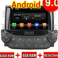 TOPNAVI 8'' Octa Core Android 9.0 Car GPS Navigation For Chevrolet MALIBU 2015 Car DVD Multimedia Audio Radio Stereo In Dash