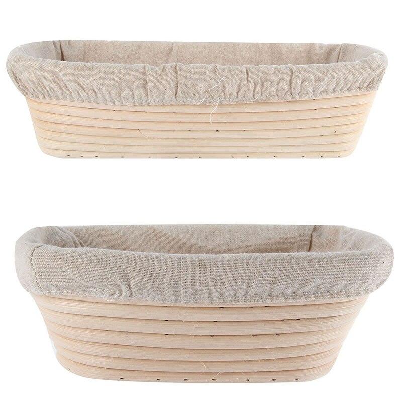 1 шт. в лоте размер Корзина для хлеба Banneton Brotform ротанговая подкладка в корзину круглый овальный лоток для фруктов контейнер для хранения еды