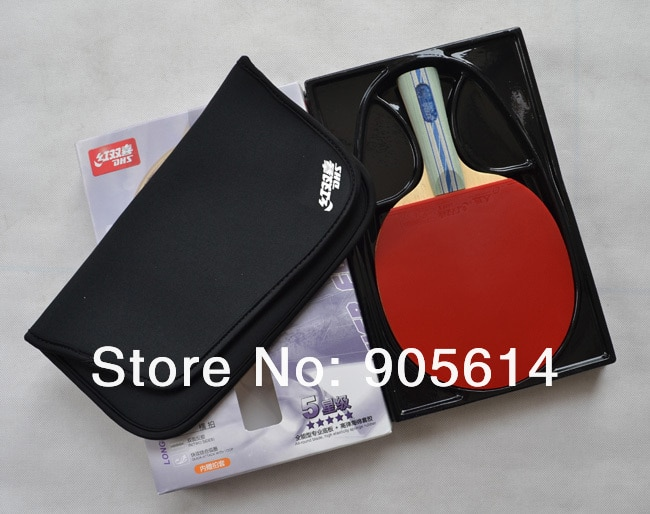 New version Ping Pong Table Tennis Racket Paddle Bat  DHS-5002