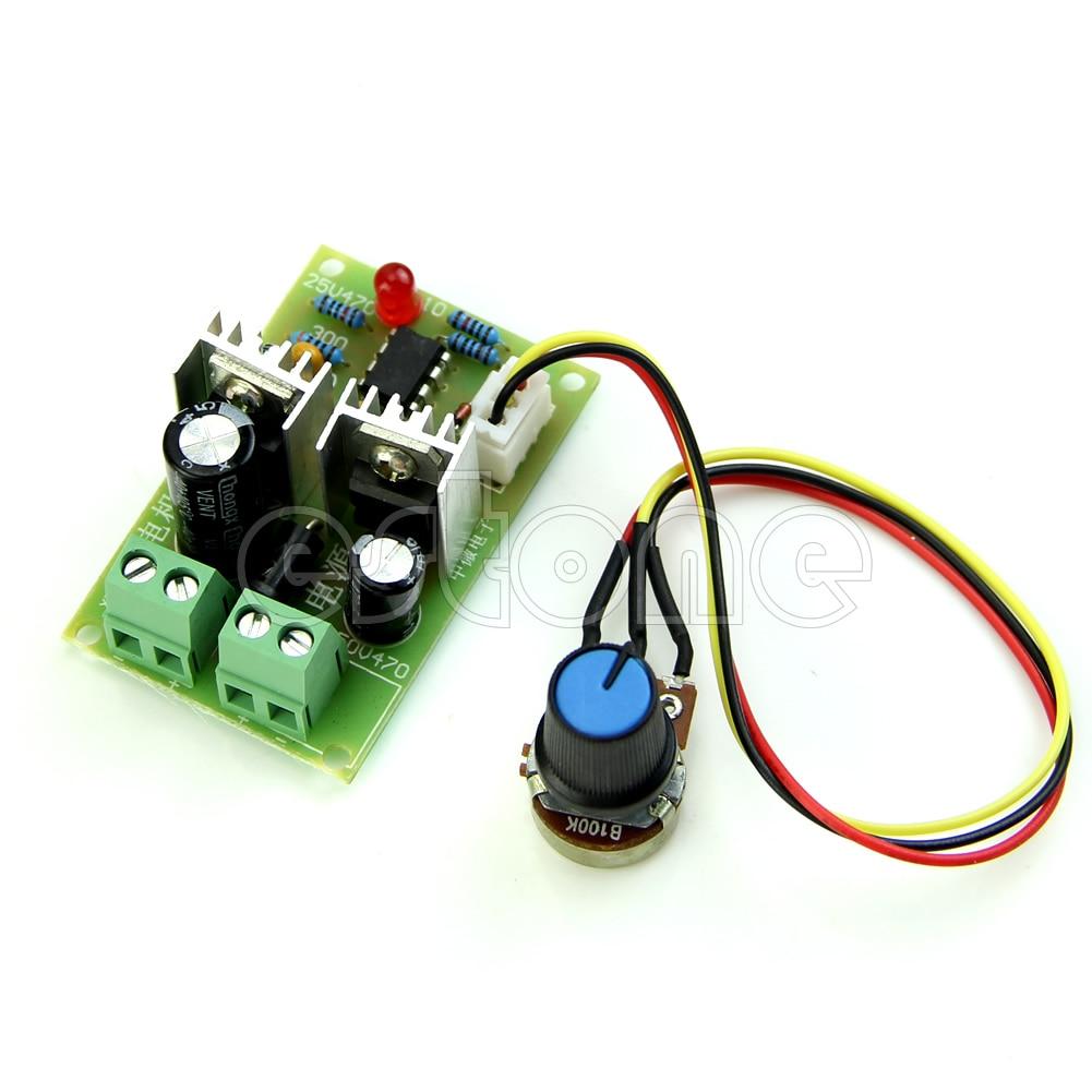 Регулятор скорости переключатель контроллера 3A 12 V/24 V/36 V ширина импульса ШИМ DC мотор