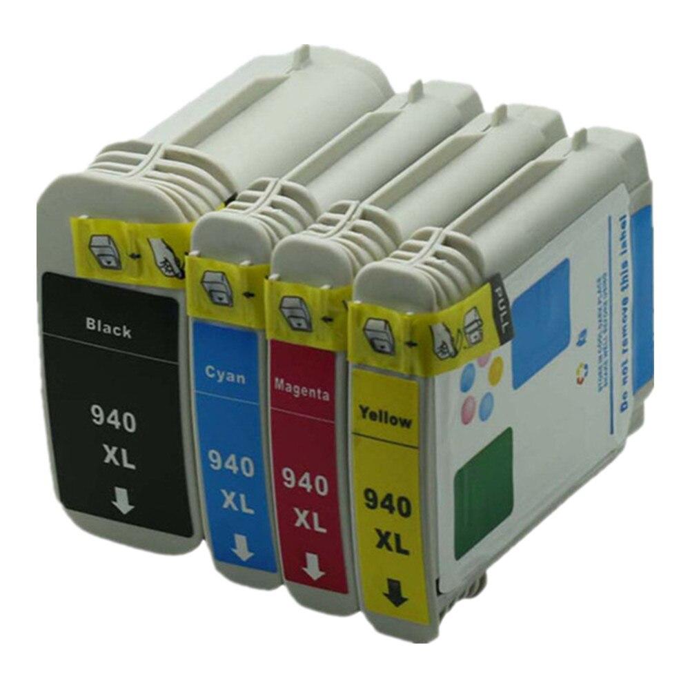 De inyección de tinta de reemplazo de cartuchos de tinta para HP940XL HP940 940XL 940 XL C4906A C4907A Officejet Pro 8500A-A910a/A910g/A910n impresora