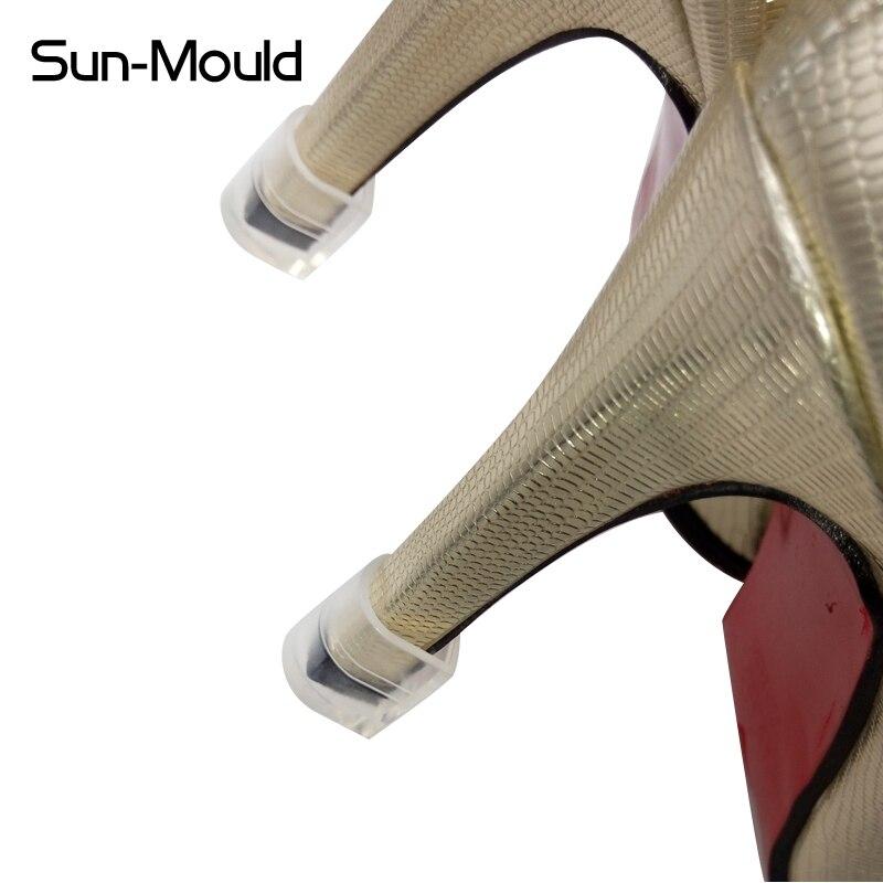 Sapatos de Dança Protetores de Salto Conjunto de Sapato Resistente ao Desgaste Pares de Queda Promoção Latina Bombas Sapatos Alto Calcanhar Case Protetor 50 Livre