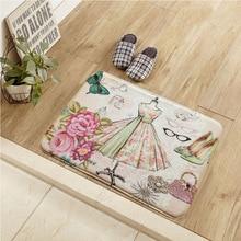 Paillasson de cuisine Vintage américain   Nouveautés, tapis de bain, tapis de salle de séjour, chambre à coucher, tapis de bienvenue en plein air, décoration dhôtel maison