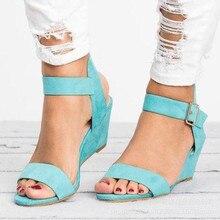 Ladies Slip-on Flat Sandals Women Sandalias Women Sandals Summer Female Shoes Cross Strap Wedge Comf