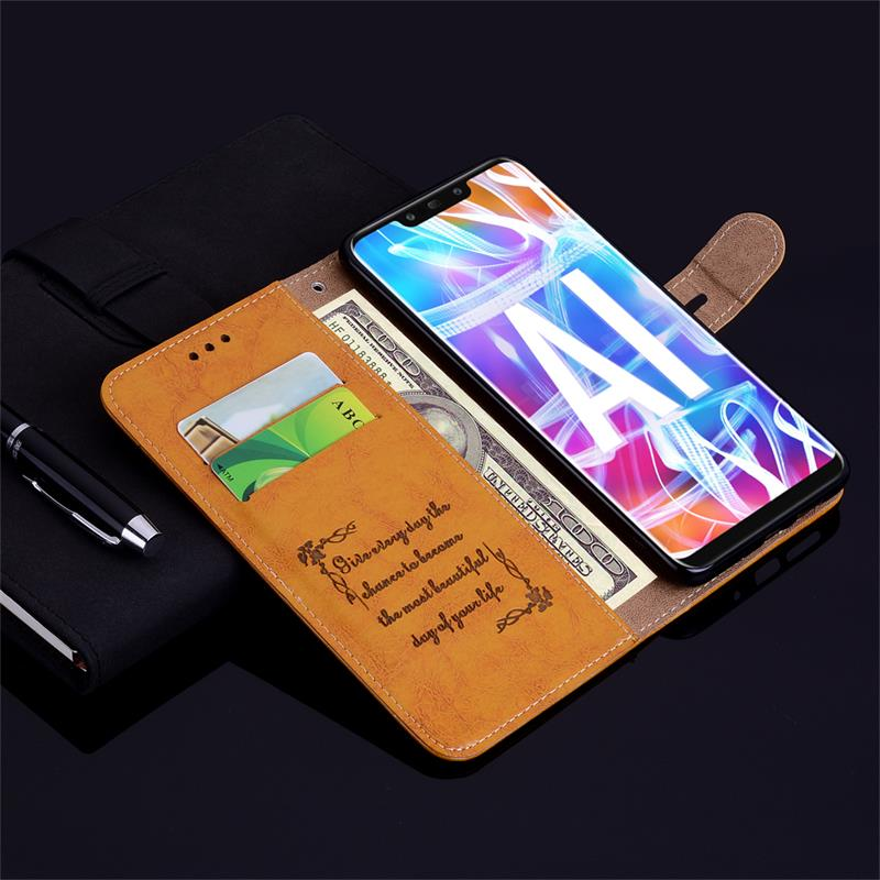 Luxury Wallet Flip Leather Case For Huawei Honor 20 Pro 20S 9X Premium Cover On Honor 10 Lite 7A Pro