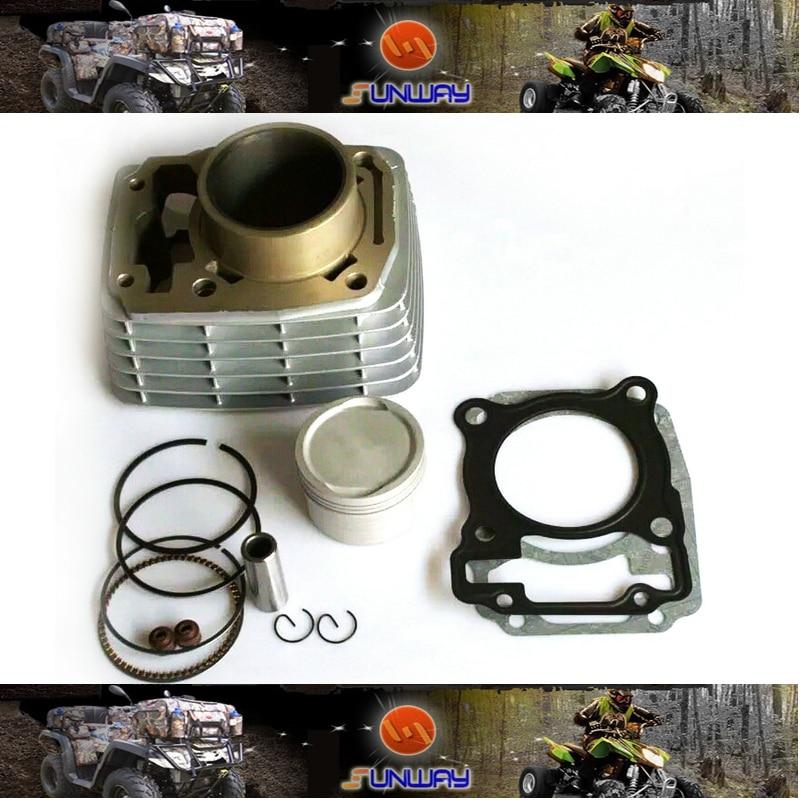 Kit de cilindro Piezas de motocicleta YIMATZU para motocicleta HONDA SDH150 CBF150 modificación necesaria,