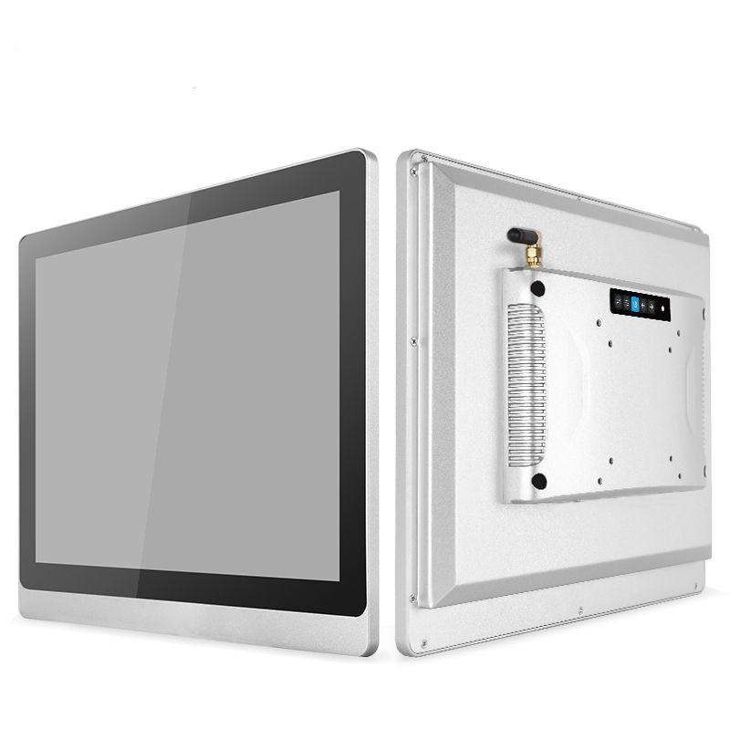 7 8.4 10.4 12.1 pouces sans fil WIFI AIO PC/ordinateur industriel intégré robuste avec 2RJ45