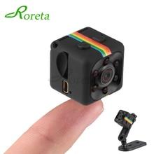 Roreta SQ11 Mini caméra HD 1080P petit capteur de Vision nocturne caméscope DVR Micro caméra Sport DV caméra vidéo sq 11