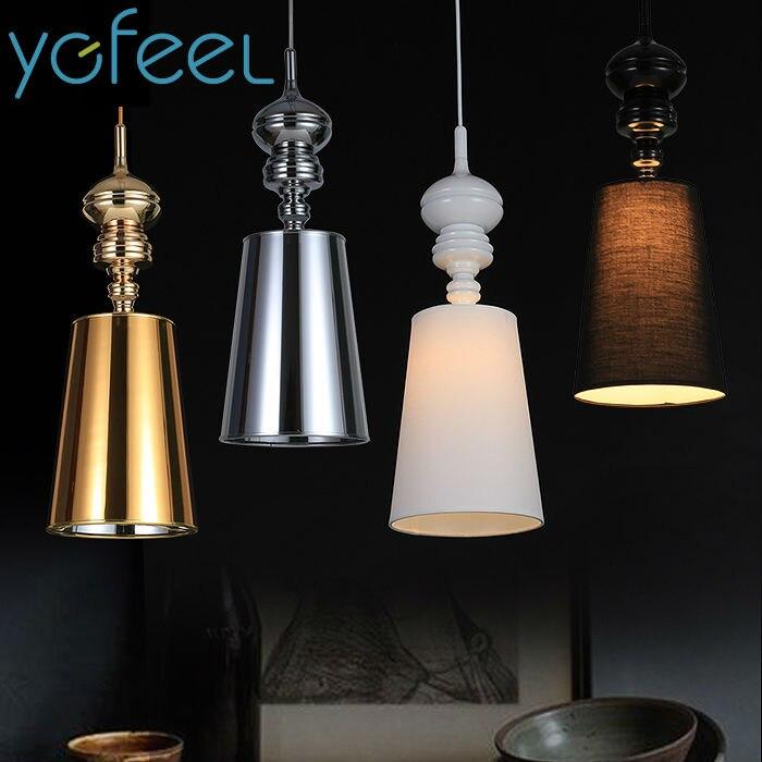 [YGFEEL] Dining Room Pendant Lights Modern Simplicity European Style Living Room Decorative Lamp Study Room Lighting E27 Holder