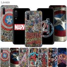 Lavazza Marvel bohater avengers obudowa do xiaomi Redmi Note 8 8A 7 6 6A 5 5A 4 4X 4A Go Pro Plus Prime