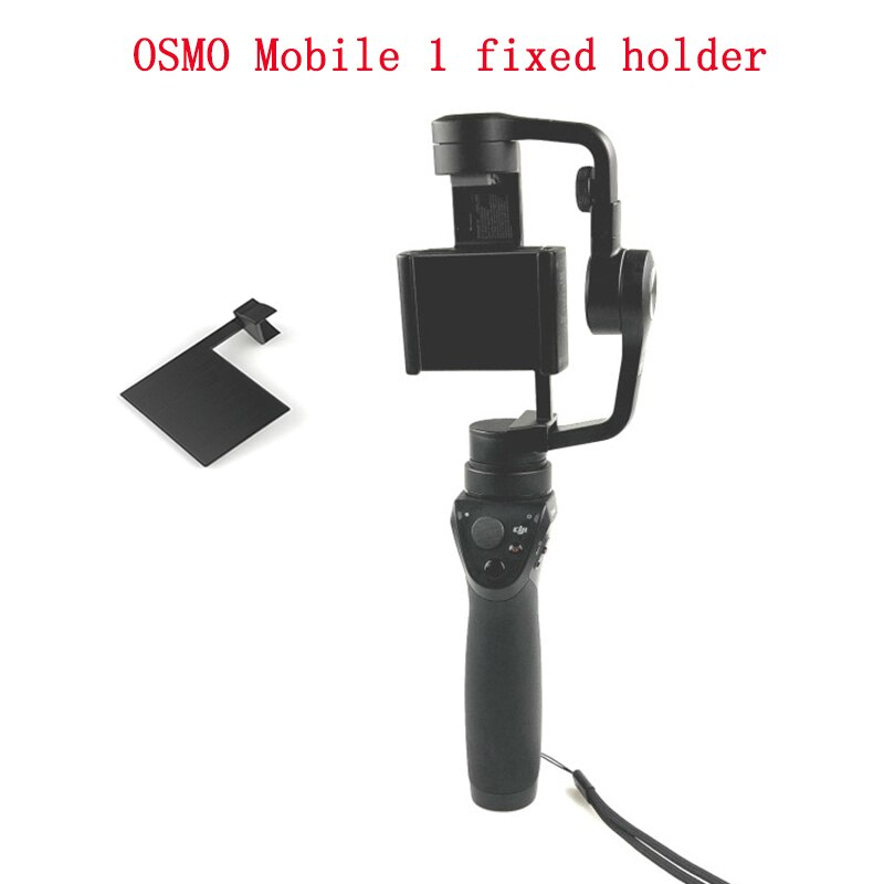 Osmo Mobile 1 Handheld Gimbal Roll Pitch XYZ Axis soporte de montaje Anti-balanceo estabilizador protección de transporte tablero de soporte fijo