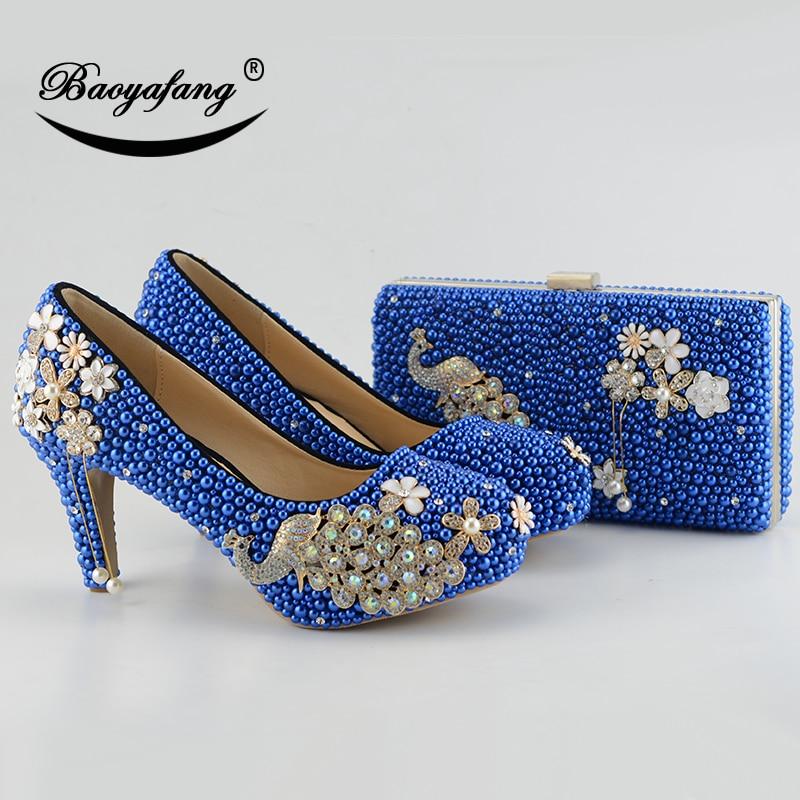 أحذية عالية مرصعة بأحجار الراين للنساء ، أحذية زفاف ، أحذية زفاف ، طاووس ، أزرق ملكي ، أحجار الراين ، مجموعة جديدة