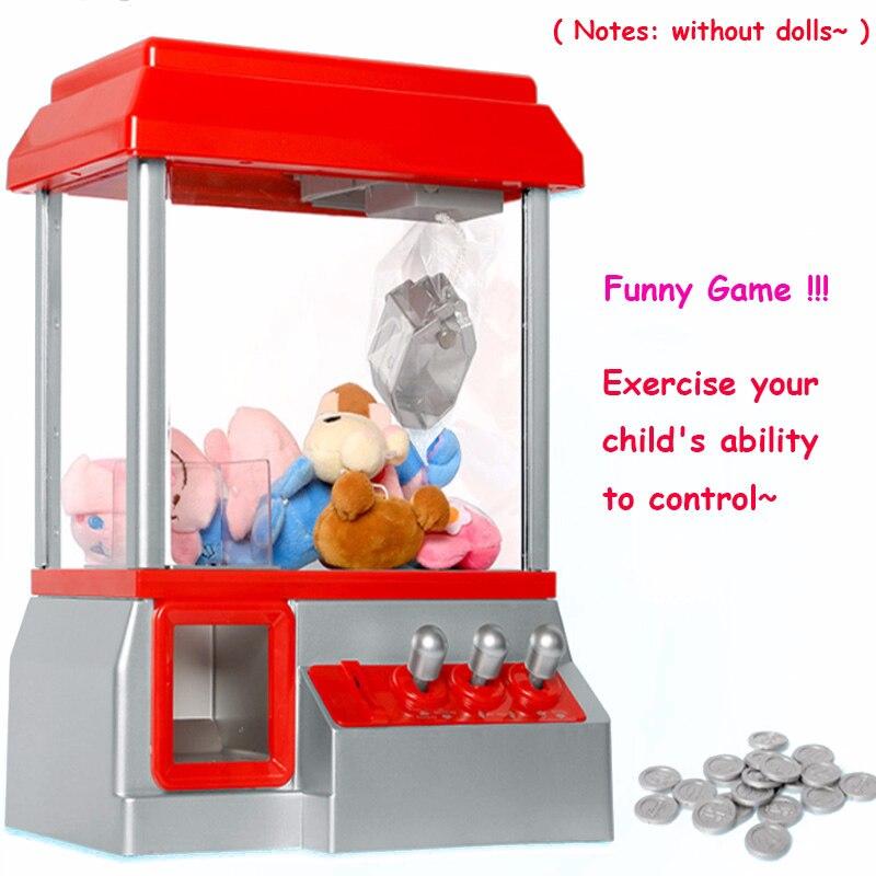 Hohe Qualität Münz Kran Maschine Spielzeug Puppe Candy Grabber Maschine Retro Spiel Karneval Arcade Maschine Catcher Kinder Spielzeug
