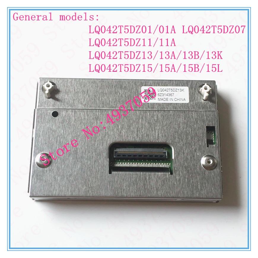 LQ042T5DZ13 LQ042T5DZ13K LQ042T5DZ13B del instrumento del coche de la pantalla