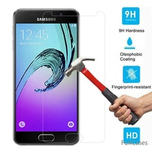 Protector de pantalla de vidrio templado para Samsung Galaxy S3 S5 S4 S6 Note3 4 5 A6 A8 2018 A530 A730 A3 a5 A7 2017 J1 J2 J3 J5 J7 2016