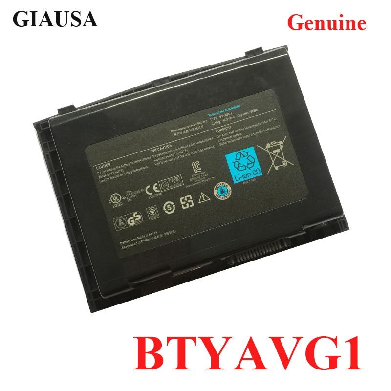 Batería original para portátil GIAUSA BTYAVG1 para Dell Alienware M18x M18x R1 M18x R2 batería