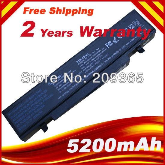 NOVA Bateria Para Samsung NP-R519 R530 R580 R428 RV408 NP-RV510 NOTEBOOK AA-PB9NS6B AA-PB9NC6W