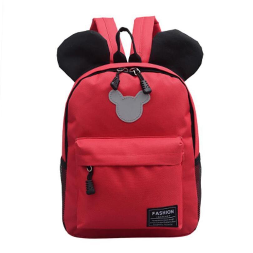 Mochila para niños de dibujos animados, mochila para niños de Mickey, mochila bonita para niños, mochila para niños de 3 a 6 años