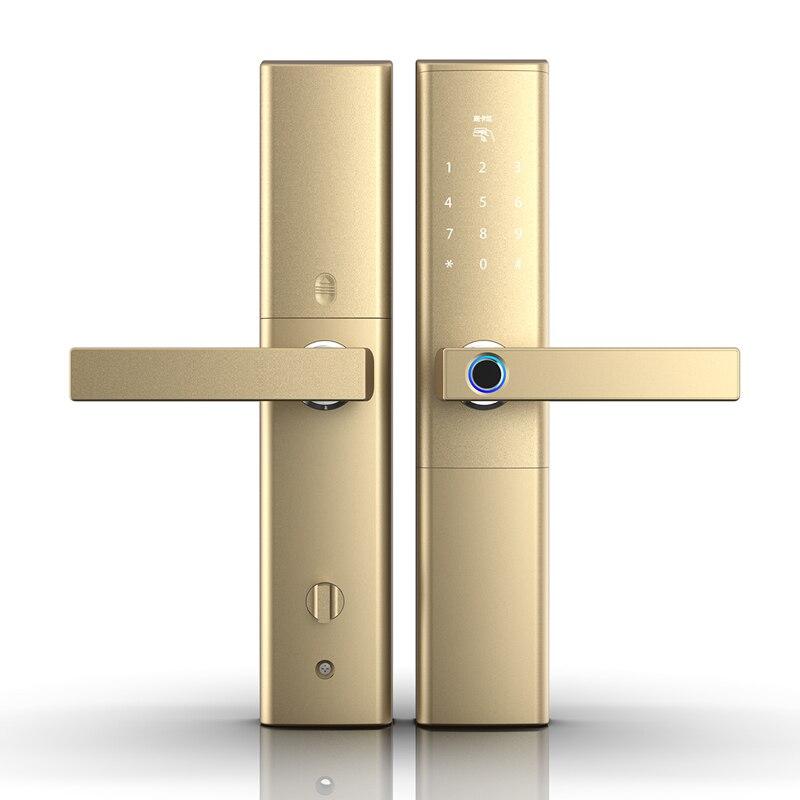 keyless waterproof fingerprint smart lock ,Electronic Intelligent Biometric Door Lock