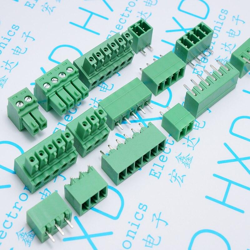 Terminales de 15 edg de 3,81mm KF2EDGK 6 p/enchufe recto del agujero de la aguja