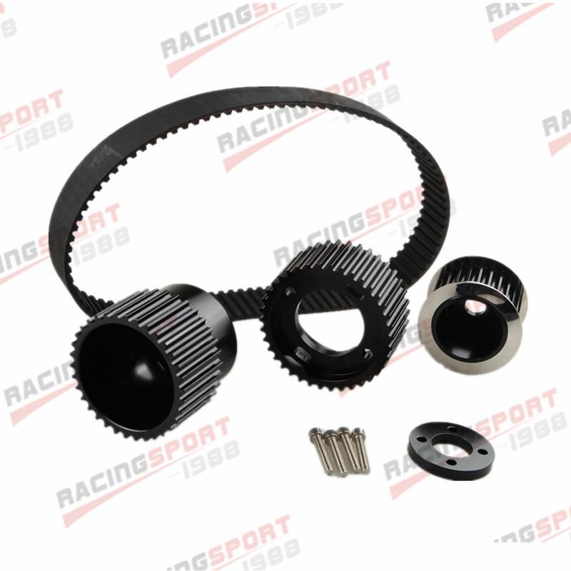 """12A 13B 20B 15mm RX7 FD FC RX3 Gilmer Drive Pulley Kit 1.5 """"notch belt"""