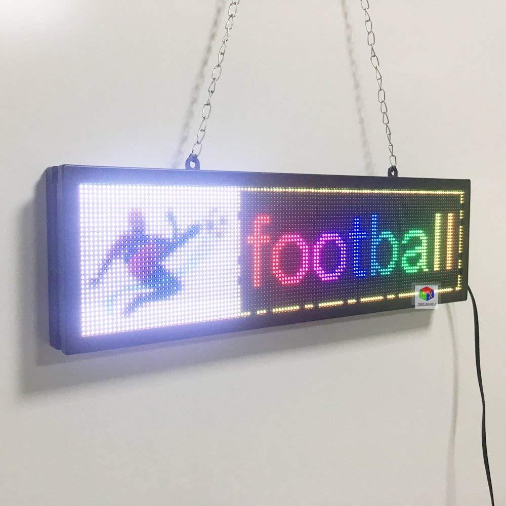 لوحة عرض كهربائية ، لوحة شعار وصورة ، داخلي ، SMD ، LED بالألوان الكاملة ، علامة تجارية مفتوحة