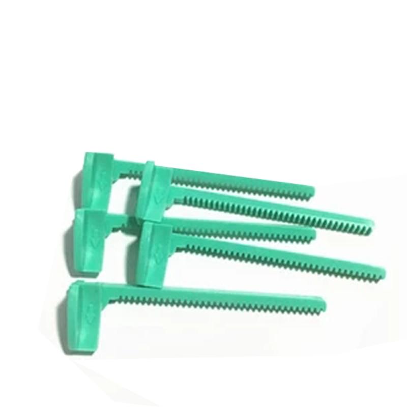 5pcs New Original 245 247 343 345 Left Side Rack Paper Jam Gear Rack For TSC TTP-245 -245PLUS -343 -343PLUS -247 -345 Printer