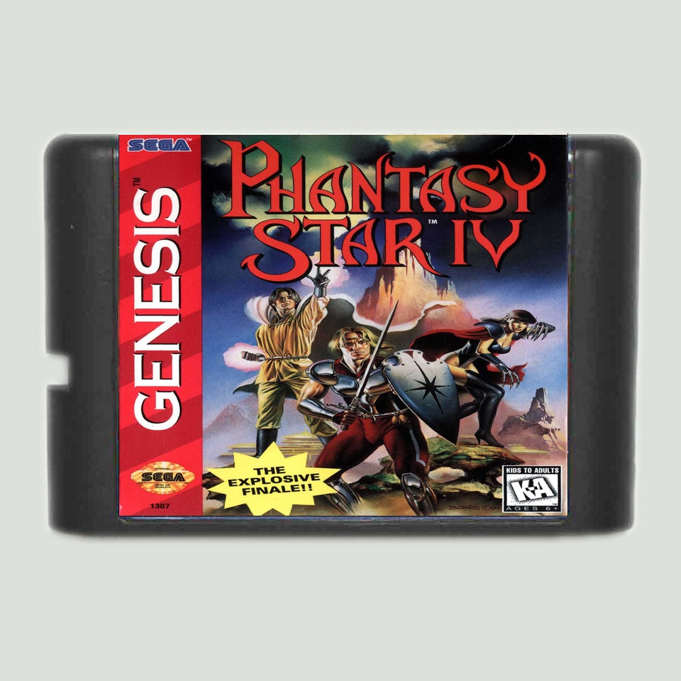 Phantasy Star IV 16 bit tarjeta de juego MD para Sega Mega...