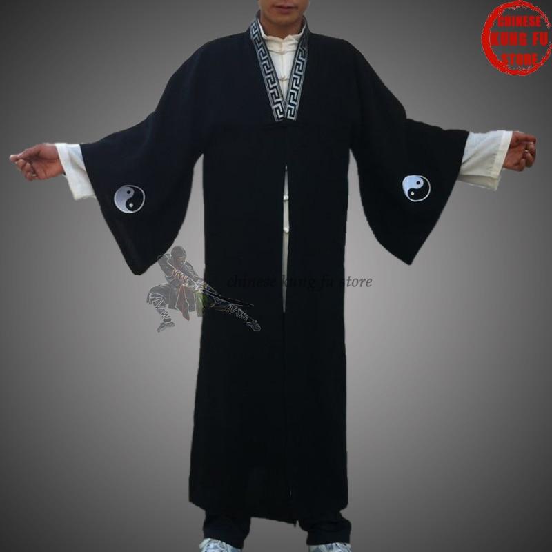 Costume taoísmo taoísmo taoísmo tai chi uniforme kung fu artes marciais shaolin monge taiji terno