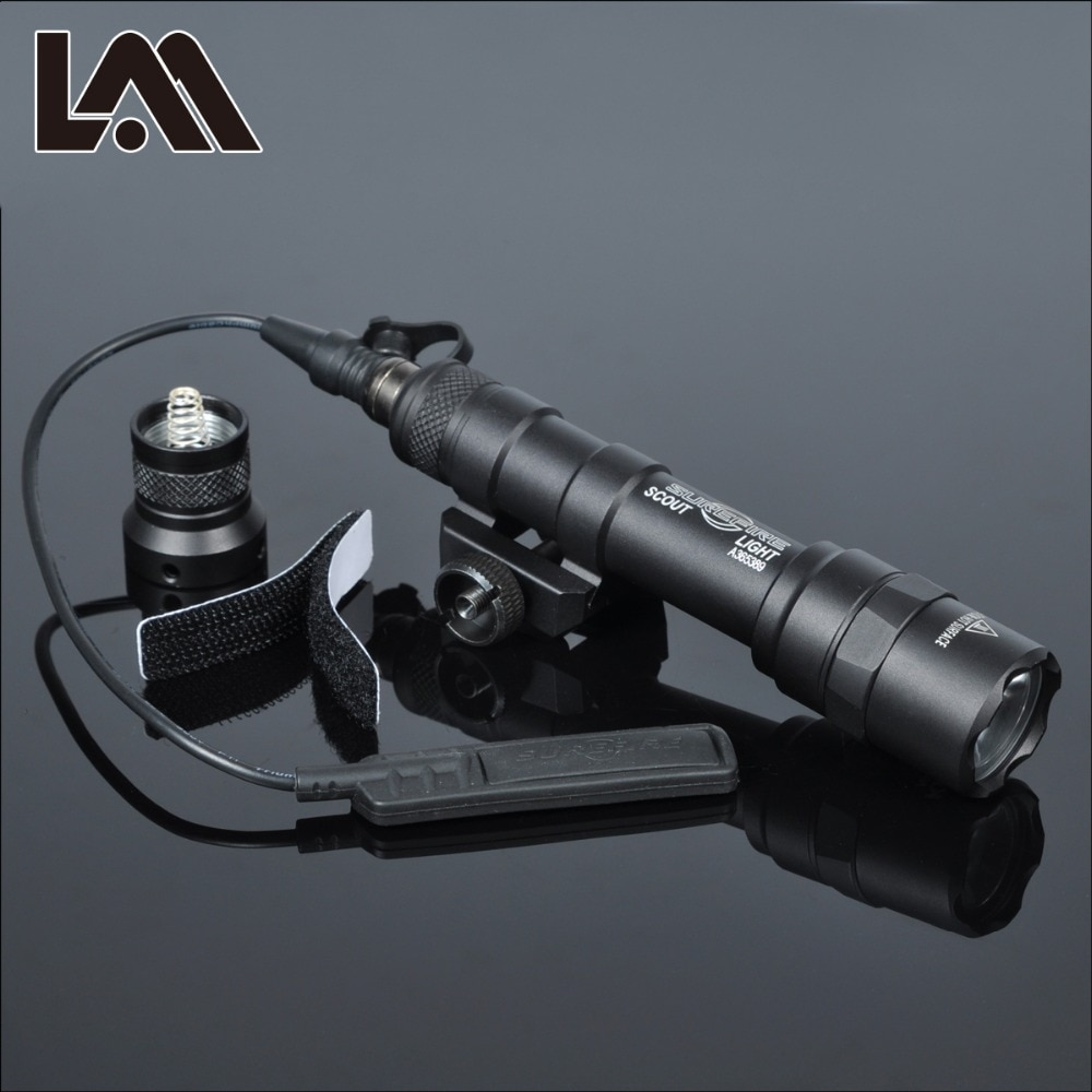 Tactical SF M600 M600B Weapon Gun light Lanterna Airsoft Rifle arma Flashlight Pistol Scout Light To