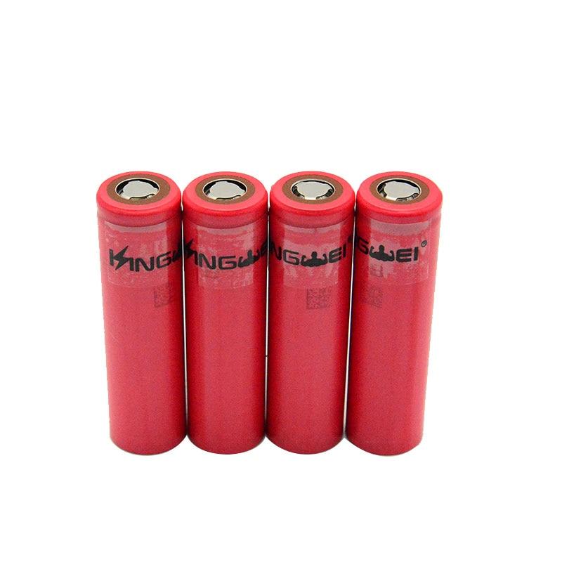 KingWei For Sanyo 3400mAh Original 18650 3.7v Li ion Lithium Rechargeable Battery