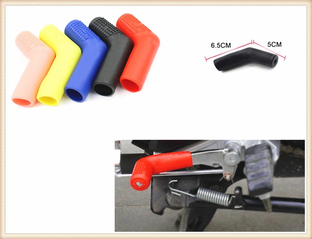 Estilo da motocicleta pendurado capa de engrenagem alavanca de mudança proteção luva borracha para kawasaki ninja 650r er6f er6n versys w800 se z750s