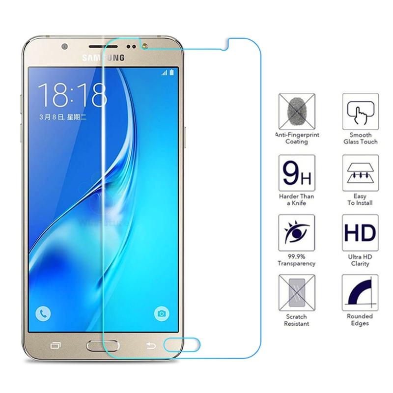 Закаленное стекло для Samsung Galaxy J3 J5 J7 A3 A5 A7 2015 2016 2017 2018 защита экрана Защитная пленка