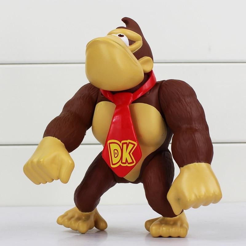 14cm Anime Cartoon Affe DK Figur Tier Modell Puppe Chiristmas Geschenk für Kinder