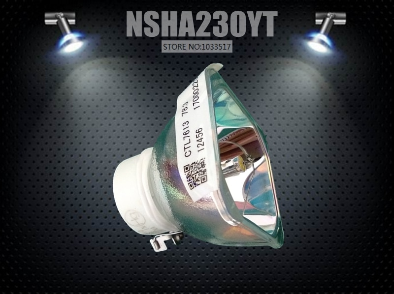 USHIO-مصباح بديل لجهاز العرض ، أصلي ، 230 واط ، لـ NEC NP07LP NP14LP