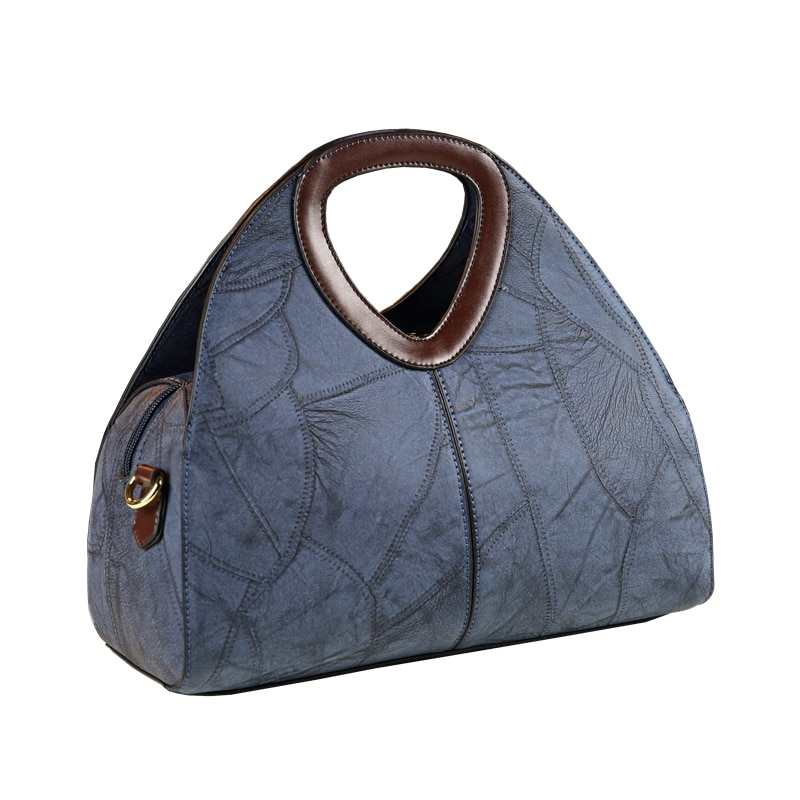 ICEV 2020 new europe style retro design women leather handbags high quality leather messenger bag ladies office clutches bolsas