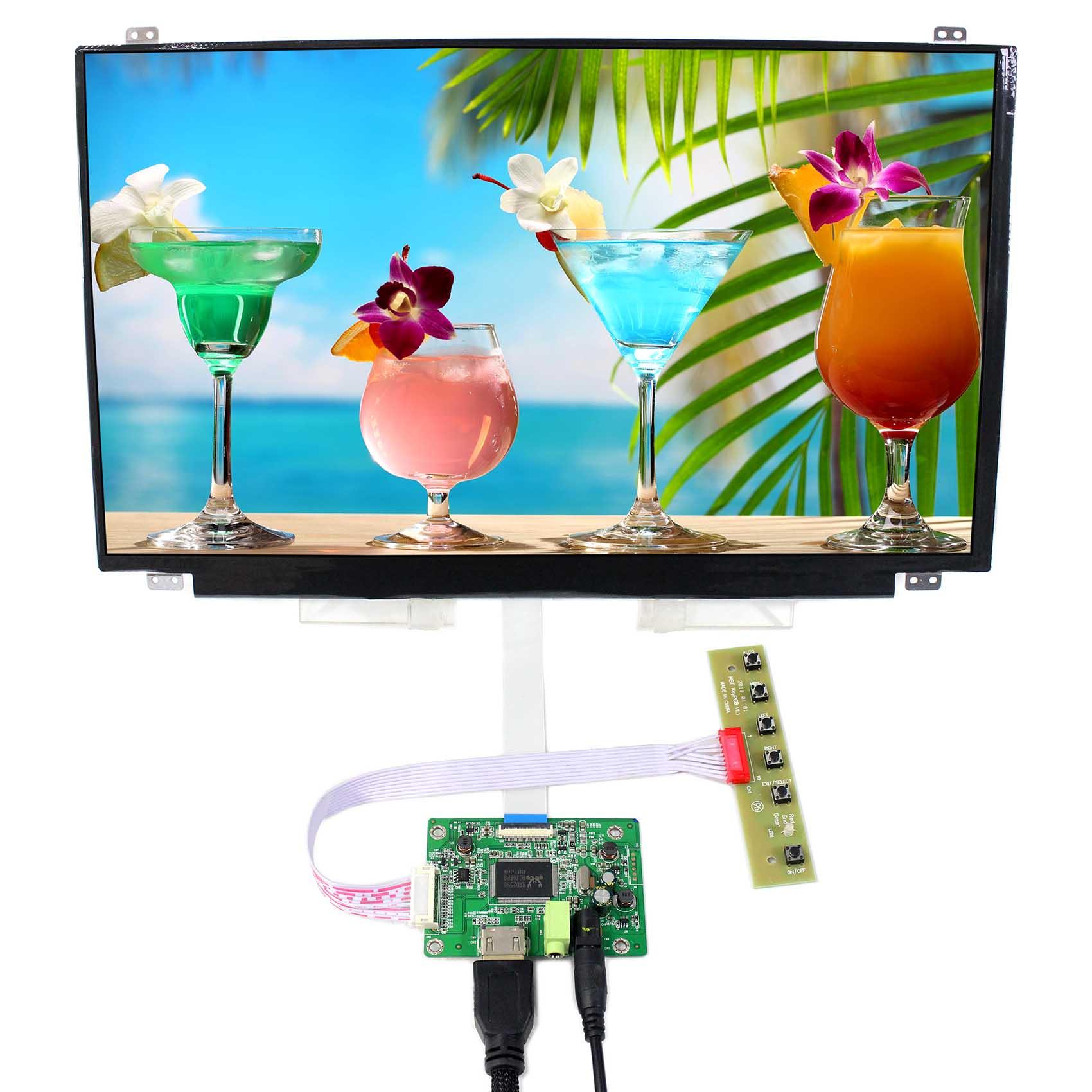 "15.6 polegada 1920x1080 IPS tela LCD (um de 15.6 ""B156HAN01.0 B156HAN01.1 B156HAN01.2) trabalhar com placa controladora HDMI LCD"