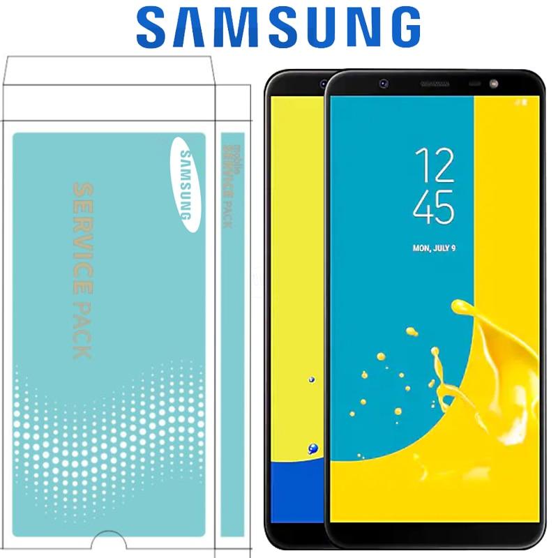 LCD Super AMOLED ORIGINAL para SAMSUNG GALAXY J8 2018 J810 SM-J810 J810M J810F MONTAJE DE digitalizador de pantalla táctil