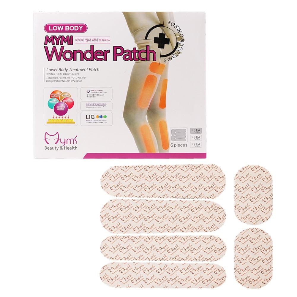 ZLROWR quema grasa baja pérdida de peso Mymi Wonder Patch tratamiento Delgado Corea cosméticos
