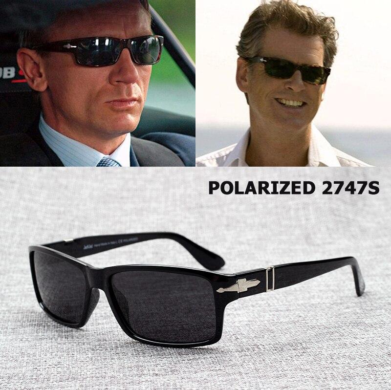 Moda jackjad hombres polarizados gafas De Sol De conducción misión Impossible4 Tom Cruise James Bond gafas De Sol Masculino