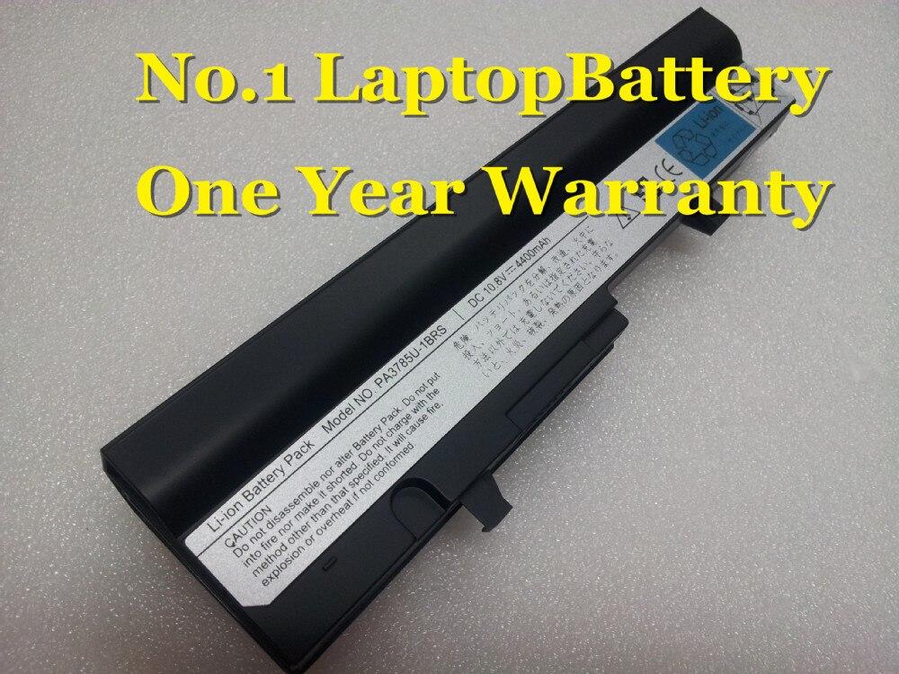 Bateria para TOSHIBA Mini NoteBook NB305 NB300 NB301 NB302 NB303 NB305 PABAS220 preto PA3784U-1BRS PA3785U-1BRS PABAS220