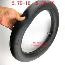 Size 2.50-10 Tire Inner Tube for PW50 PW 50 CRF50 XR Straight Valve Stem Motorcycle Dirt Bike ATV Quad Part