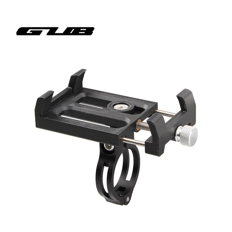 Soporte para manillar de bicicleta GUB G-84, soporte Universal ajustable para teléfono de bicicleta para Smartphone de 3,5-6,2 pulgadas, soporte de montaje de aluminio