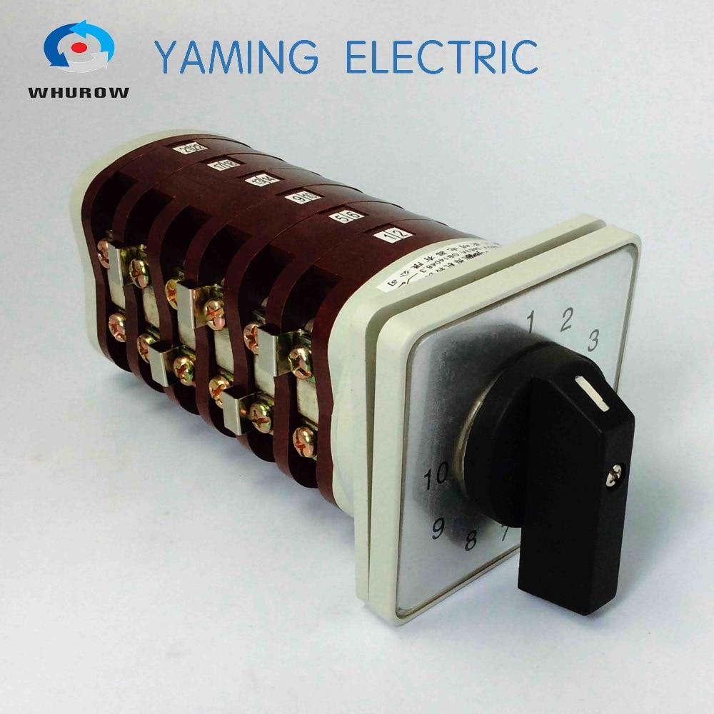10 позиционный поворотный переключатель 6 pole переключатель cam переключатель переключения 63a bx6 сварочный аппарат от производителя