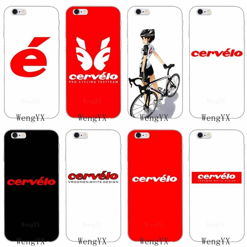 Cervelo bicicleta equipo bicicleta ciclismo suave funda para Huawei honor 4c 5c 5x 6x V10 Y5 Y6 Y7 II Mate 7 8 9 10 P8 P9 P10 Lite plus 2017